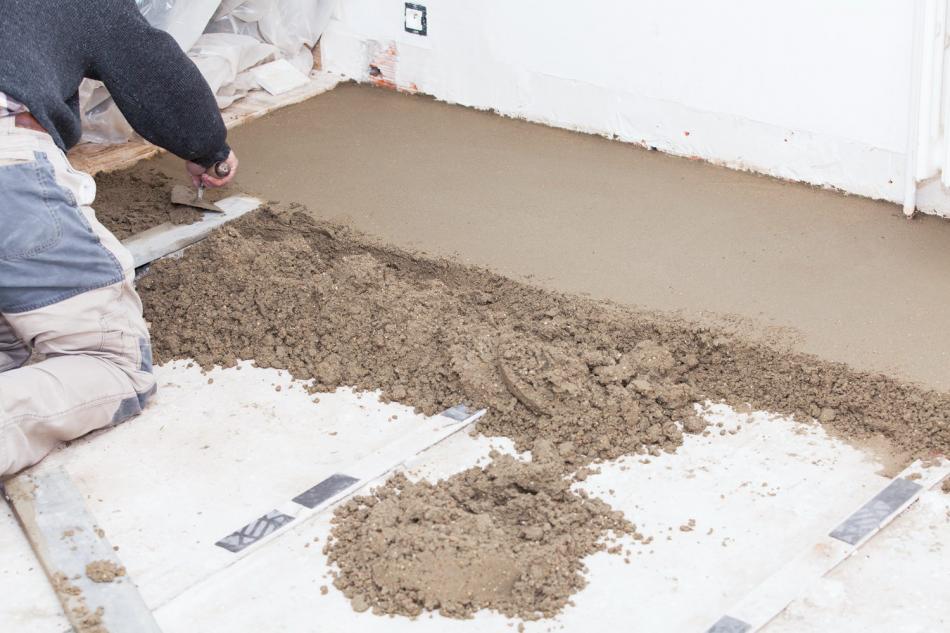 цементная смесь для заливки пола